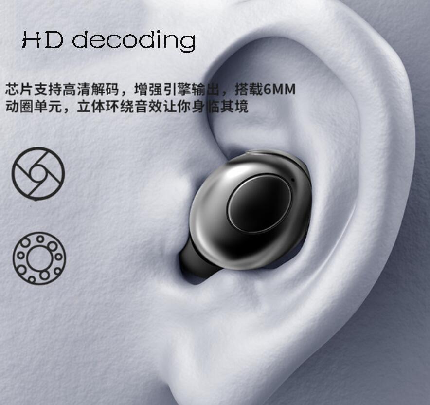 True Wireless Bluetooth5.0 Headphone Stereo Noise reduction Headset Sports Earphone Creative TWS Waterproof Earphone enlarge