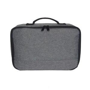 Image 3 - Портативный серый чехол для проектора универсальная сумка для переноски органайзер для путешествий для проекторов и аксессуаров