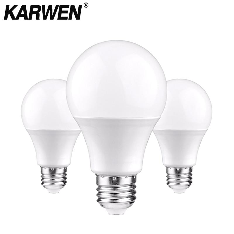 KARWEN Bombillas LED para lámpara E27 E14 bombilla de luz de 220V-240V...