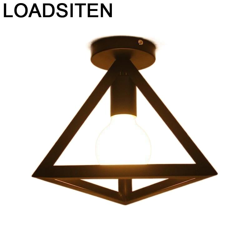 Candeeiro Deckenleuchte Industrial Decor Plafon Plafonnier Moderne Living Room Lampara Techo Luminaria De Teto Ceiling Light