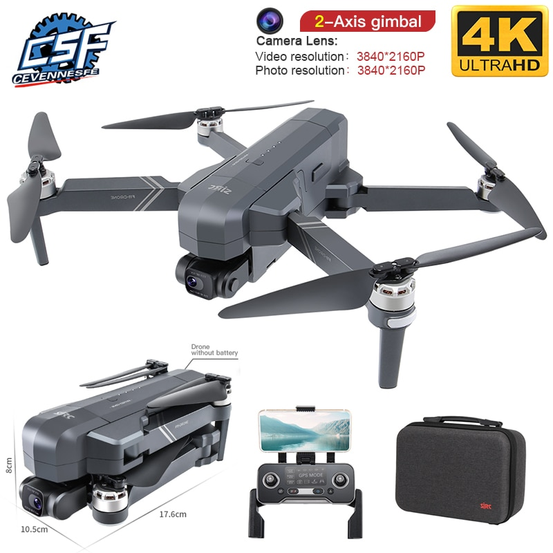 2020 NEW F11 PRO Professional 4K HD Camera Gimbal Dron Brushless Aerial Photography WIFI FPV GPS Fol
