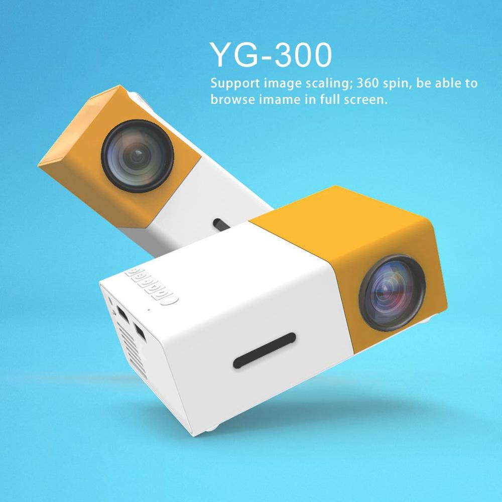 LED جهاز عرض صغير عالية الدقة الترا المحمولة HD 1080P HDMI متوافق USB العارض مشغل الوسائط المسرح المنزلي متعاطي المخدرات