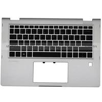 for hp elitebook x360 1030 g2 904507 001 917895 001 laptop palmrest upper case us backlight keyboardbottom base