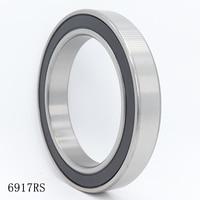 6917 2RS ABEC-1 2PCS 85x120x18MM Metric Thin Section Bearings 61917RS 6917RS