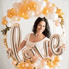 60/80/100Cm Ronde Plastic Kunstmatige Bloem Krans Frame Bruiloft Decoratie Diy Ballon Boog Stand Photo Prop baby Douche