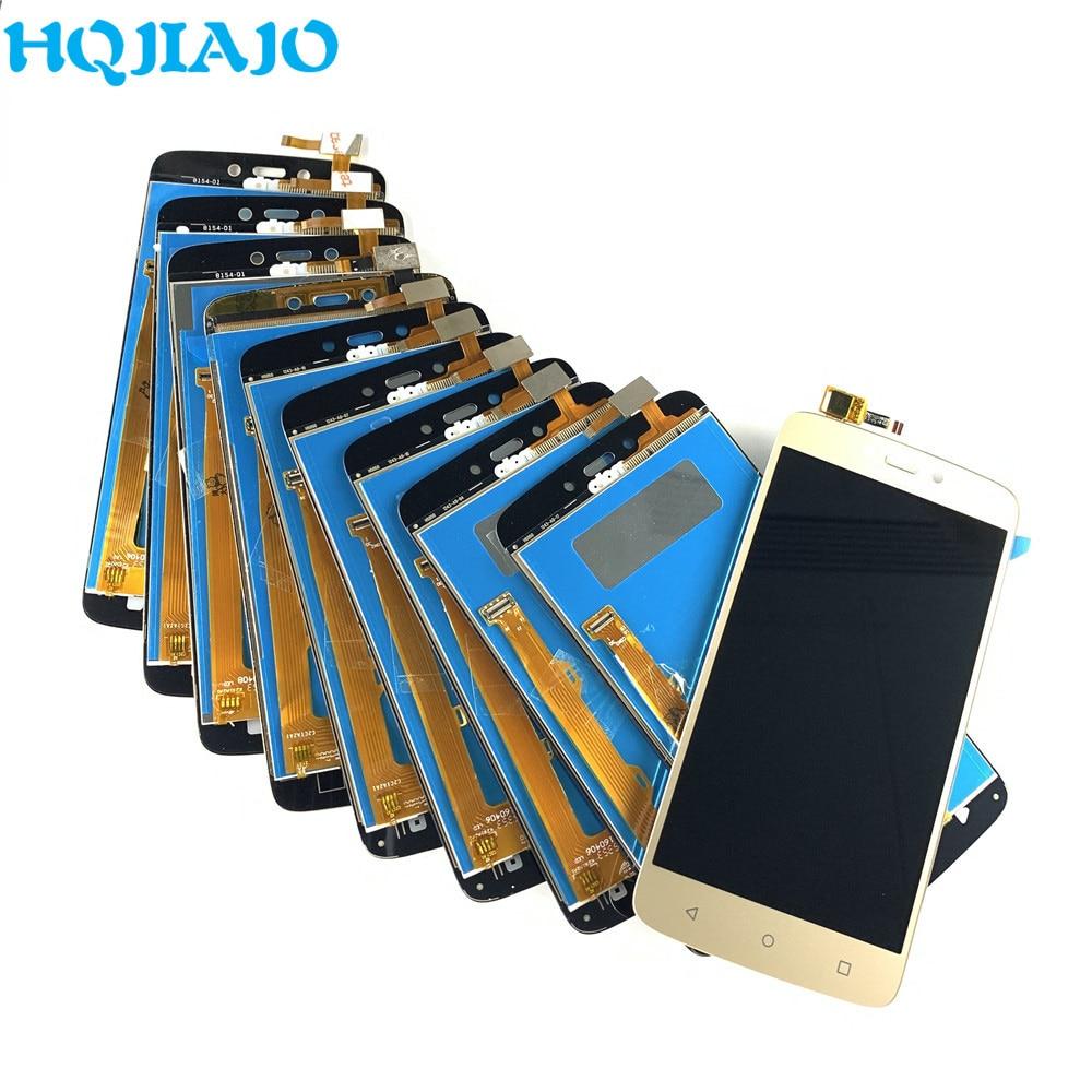 10 جزء/الوحدة شاشة LCD لموتورولا موتو C زائد XT1723 شاشة LCD تعمل باللمس الاستشعار LCD الجمعية