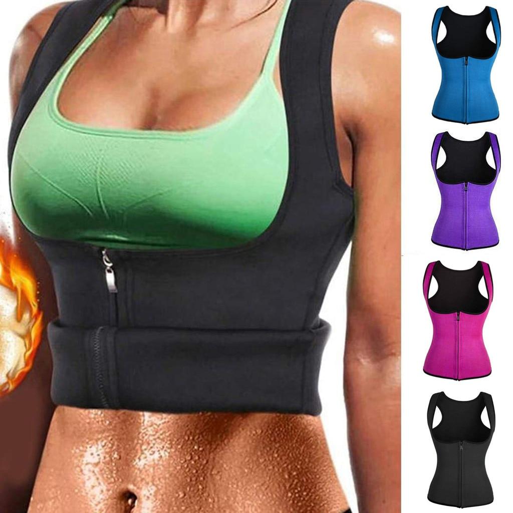 נשים כושר מחוך ספורט גוף Shaper Vest נשים מותניים מאמן אימון הרזיה בטן בקרת Shapewear סקסי הלבשה תחתונה S-5XL