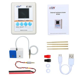 Battery Tester BT 5201 USB High Precision Battery Internal Resistance Tester Meter for Rechargeable Battery Battery Capacity
