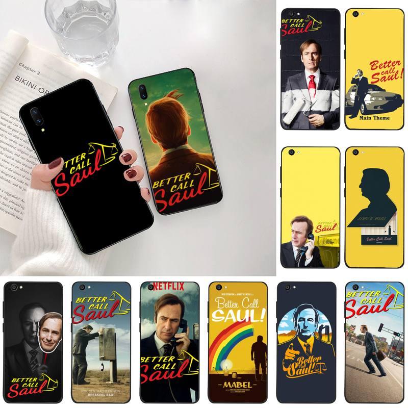 Melhore a Chamada Better Call Saul Soft Rubber Phone Cover For Vivo Y91c Y17 Y51 Y67 Y55 Y93 Y81S Y19 V17 vivos5