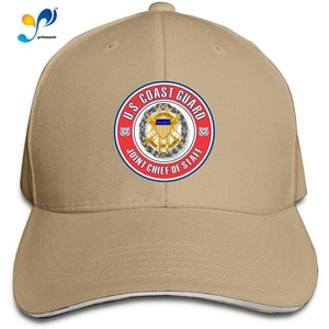 US Coast Guard Joint Chief of Staff Men Cotton Classic Baseball Cap Adjustable Size
