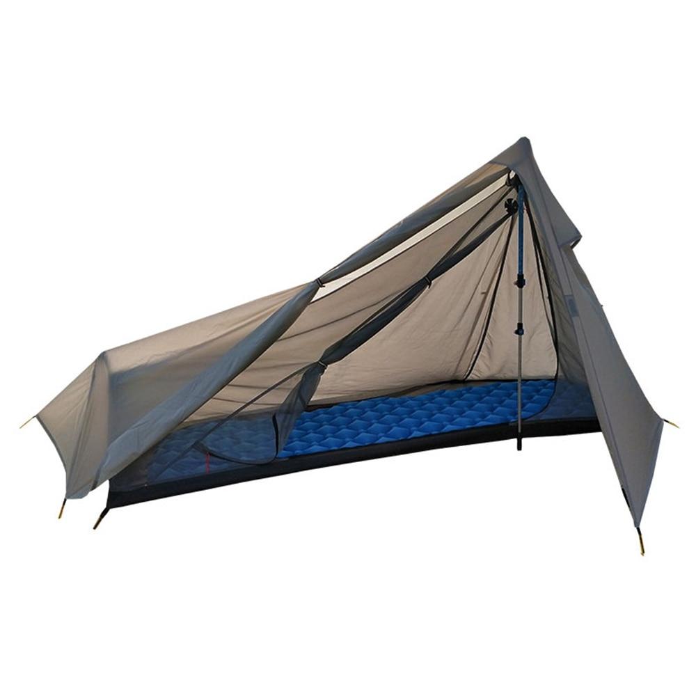 2020 Outdoor Summer Tent 1 Persoon Oudoor Ultralight Camping Tent 3 Seizoen Professionele 15D Nylon Cloth Tent 4 Seizoen