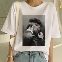 Maycaur Harajuku Peaky Blinder Frauen T-shirts Lustige Kurzen Ärmeln T Hemd Frauen Shirt 90s Ulzzang Weibliche T-shirt Tees Mode top
