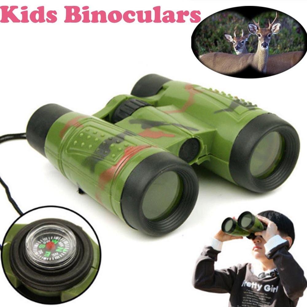 Tecnologia ciência brinquedos para crianças meninos crianças brinquedo de ampliação binóculo telescópio pescoço gravata cinta lente brinquedos educativos criança
