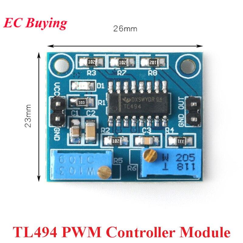 Módulo controlador ajustable TL494 PWM, 5V, 250mA, módulo de fuente de alimentación