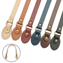 60Cm PU Leather Hand Imitation Leather Cloth Handle Bag Straps DIY Replacement Accessories Crossbody