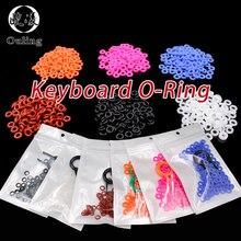 110 adet Keycaps O Ring contası klavye o-ring anahtarı ses sönümleyiciler için kiraz MX klavye Damper yedek gürültü azaltma mühür