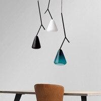 nordic luminaria pendente luminaire rope  living room  restaurant luminaire pendant lights hanging ceiling lamps