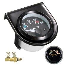 "The New 2"" 52mm Digital Car Water Temp Temperature Gauge 40-120℃ Led Universal Auto Accessori"