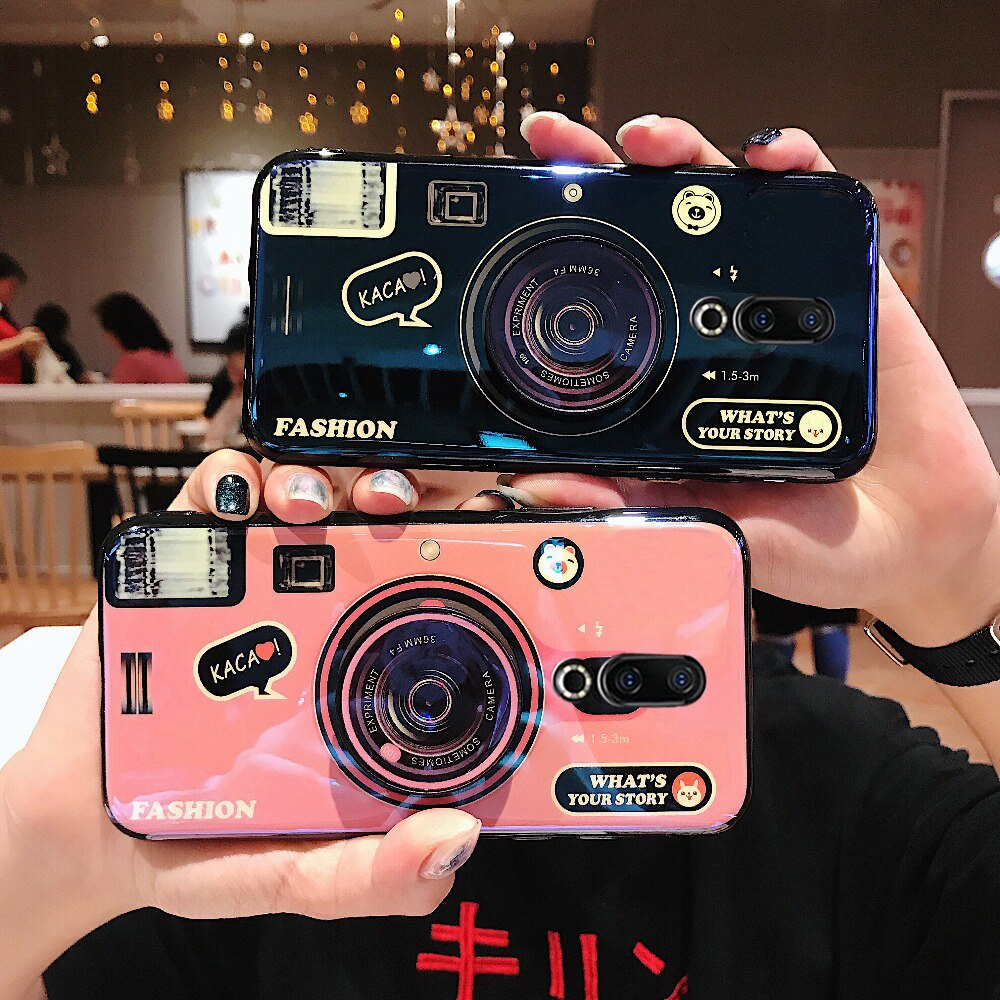 Для Meizu pro 7plus m15/15 plus V8 X8 note 8 9 чехол из мягкого ТПУ в стиле камеры для Meizu 16 T/16XS/16 S/16TH plus
