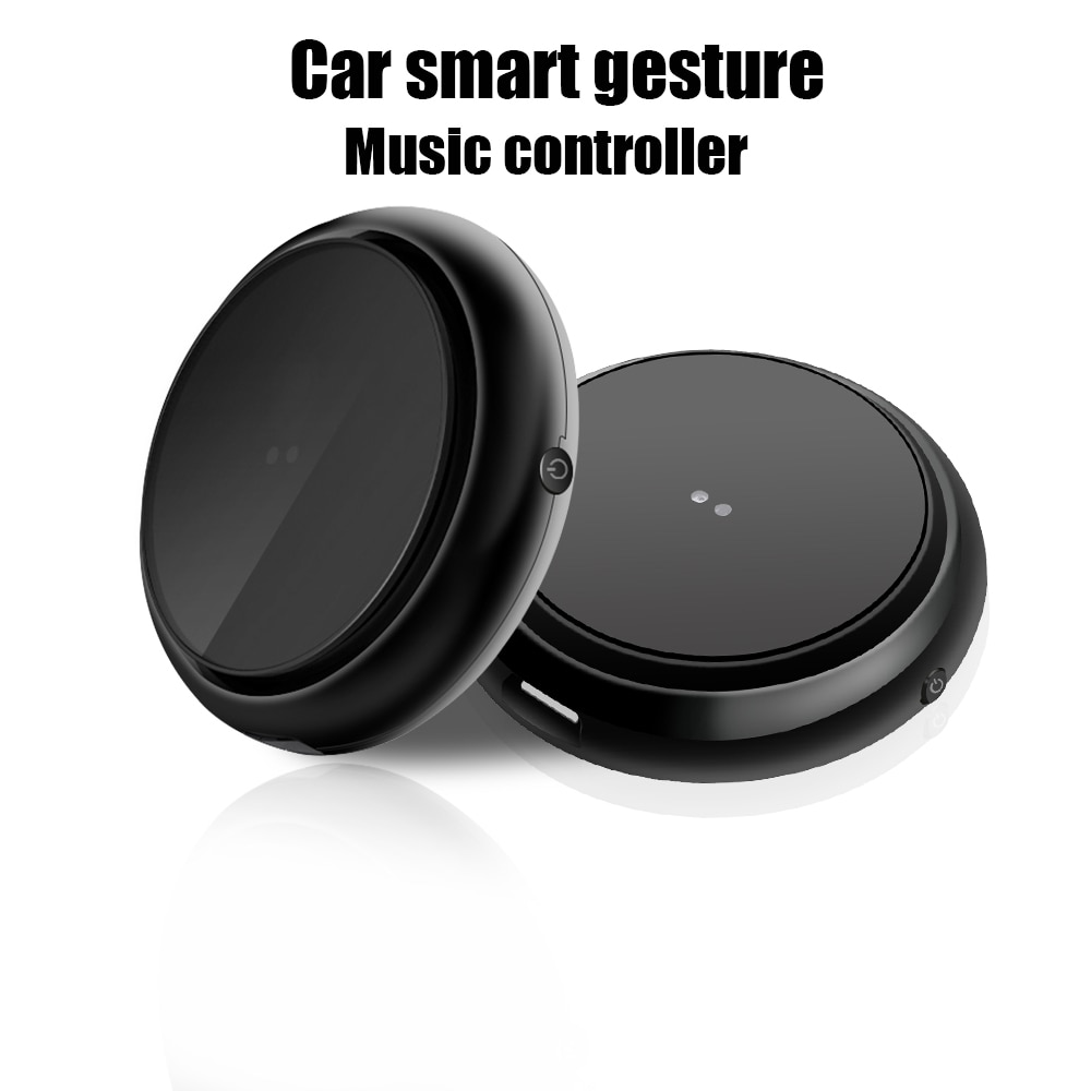 Carro Hangrui gesto inteligente controlador de música Portátil Mini telefone buletooth sem fio Multimídia controle remoto para IOS Android