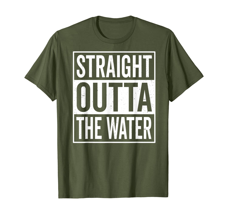 Водная Яркая футболка для мальчиков и девочек