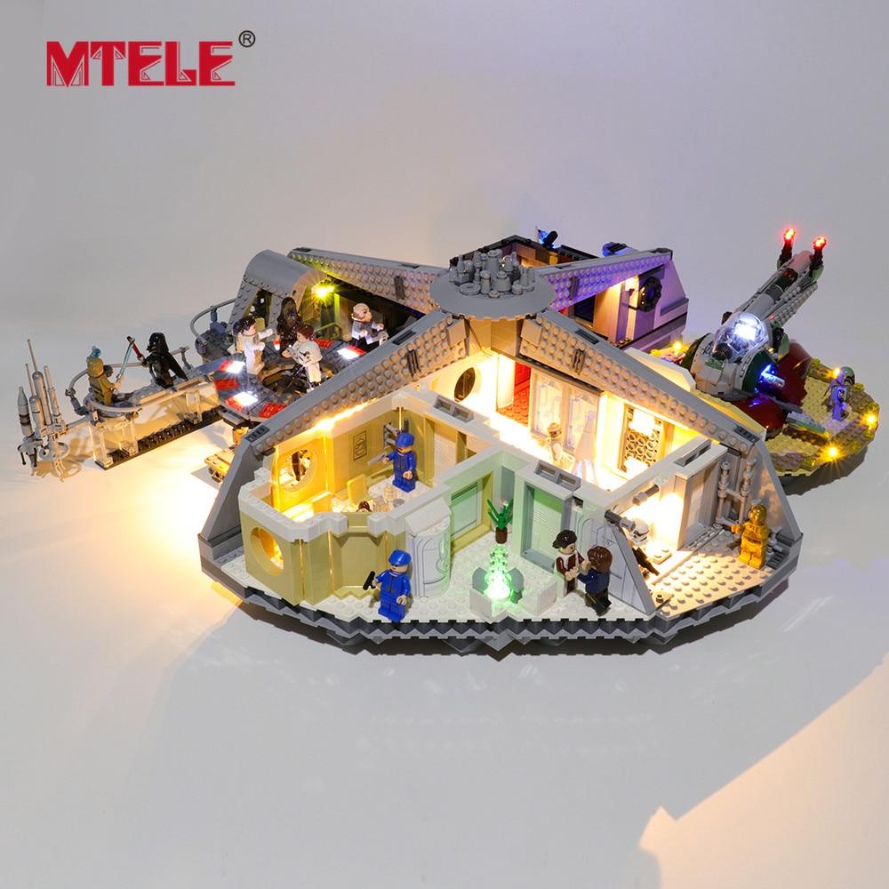 Купить с кэшбэком MTELE LED Light Kit for 75222 Star War Series Betrayal at Cloud City Toys Compatile With 05151