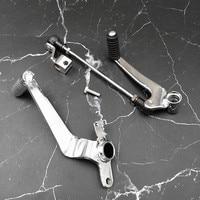 Motorcycle Aluminium Rear Brake Lever Foot Rests Gear Shift lever Shifter pedal for CB400 1992-1998 CB400 SF VTEC 1999-2010