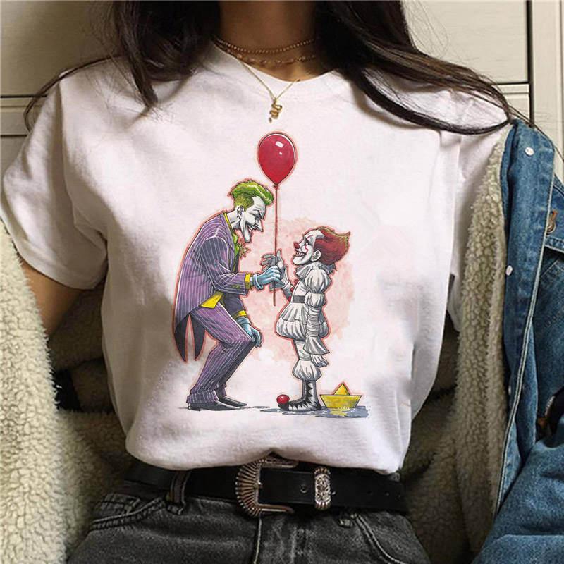 2019 Horror Friends Pennywise Michael Myers Jason Voorhees Halloween Women T-Shirt Top Ouija T Shirt Camiseta Female Shirt printio jason voorhees