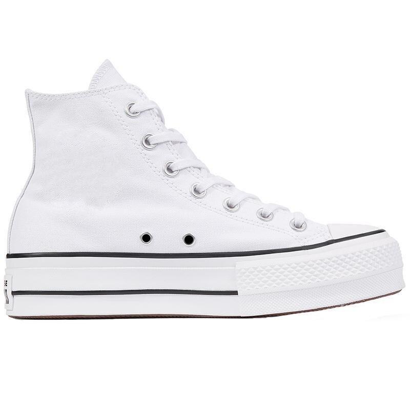 Zapatillas gruesas vulcanizadas para mujer, zapatos con plataforma de lona para zapatos,...