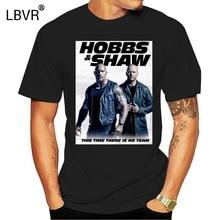 Raro-Vintage HOBBS y SHAW 2019 rápido y furioso Hawaii película Crew camiseta TOP .. 2019 nueva llegada hombres camiseta nueva