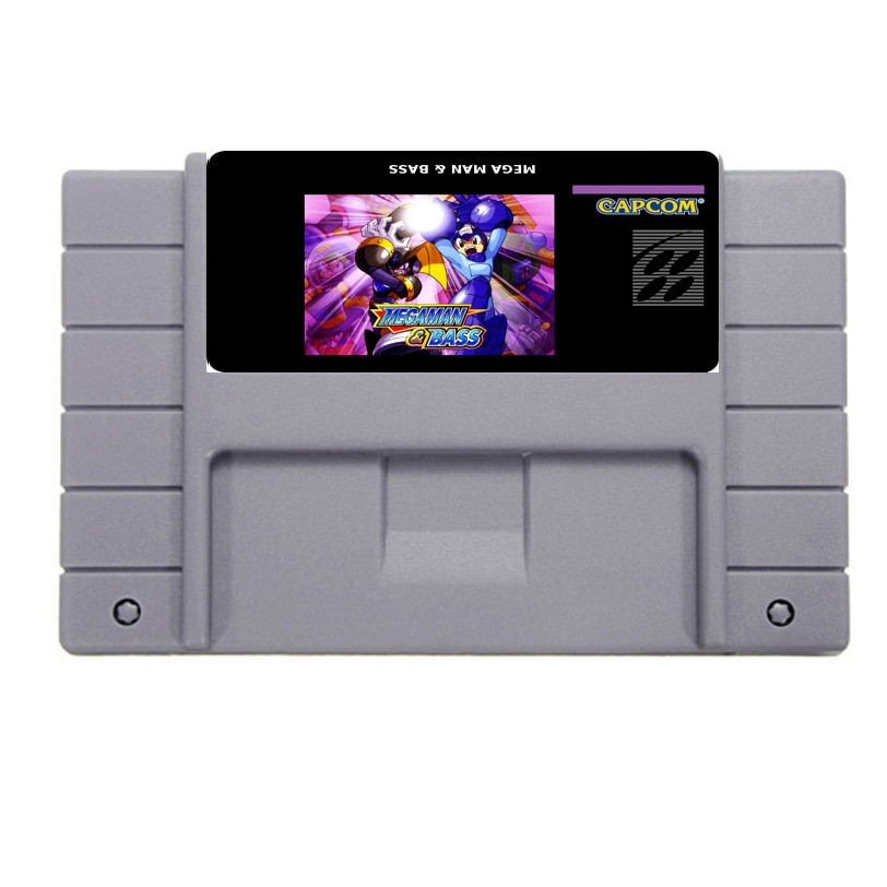 Guardar archivo 16bit 46pin Súper tarjeta de juego-Megaman y Bass
