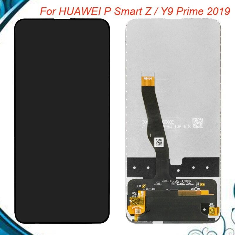6,59 pulgadas Huawei Y9 primer 2019/P Smart Z LCD pantalla STK-LX1 MONTAJE DE digitalizador con pantalla táctil partes para Huawei P Smart Z