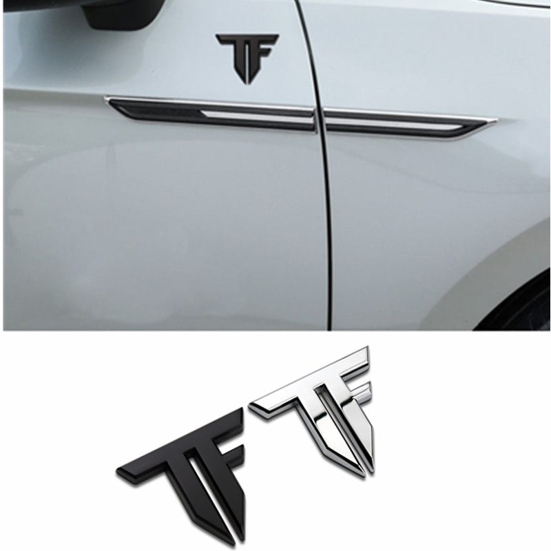 Estilo do carro 3d transformadores de metal logotipo tf autobots acessórios do carro adesivo emblema decalque para bmw audi toyota tronco corpo do carro