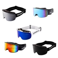 winter out door sport ski goggles cycling sunglasses riders safety double layer anti fog large spherical mountaineering glasses