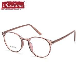 Retro Transparent Frame Women Prescription Glasses Eye Glass for Men Optical Glass TR90 Round Spectacles