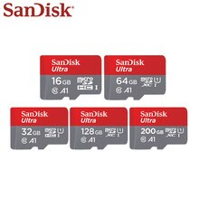 100% Original Sandisk Micro SD Card Class 10 Memory Card 200gb 128gb 64gb 32gb 16gb 100MB/s TF Card UHS-I Flash Card