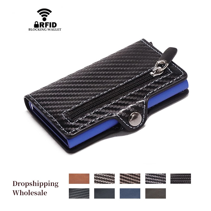 2020 homens de fibra carbono saco dinheiro masculino curto carteira couro pequeno fino inteligente fino carteiras bolsa cartão carteira pequena embreagem
