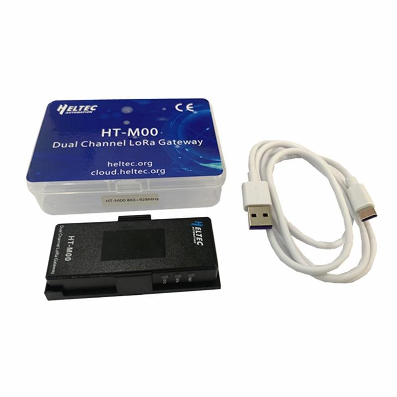 Heltec Min IOT HT-M00 Dual Channel LoRa Gateway support Standard LoRaWAN/ESP32 Lora gateway 2 channel gateway недорого