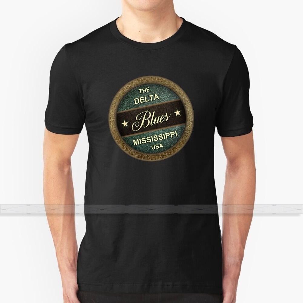 Camiseta con estampado Delta Blues 3D para hombre, camiseta de verano con cuello redondo para mujer, camisetas Mississippi Blues Country Western Music R B Rhythm