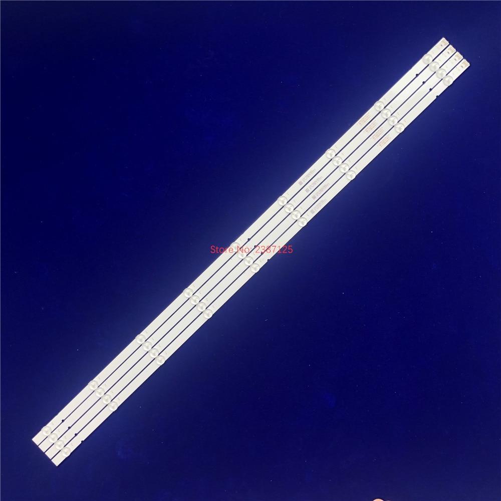 1 مجموعة = 4 قطعة LED شريط إضاءة خلفي 9 مصابيح JL.D49091330-001FS-M
