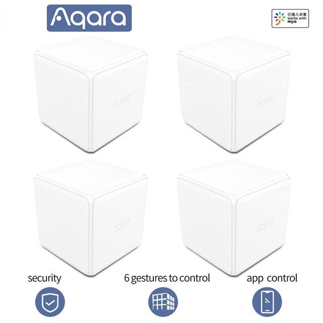 Датчик жестов Aqara контроллер магического Куба беспроводной переключатель 6 Датчик жестов zigbee moiton датчик умный дом