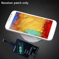 universal fast wireless charger adapter wireless charger patch for receiver o6e6