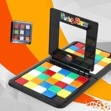 Genitore-Bambino Interactive Colorato Battaglia Sport Gioco Di Puzzle del Cubo di 3D Di Puzzle Gara Cubo Bambini Adulti Desktop Giocattolo Educativo