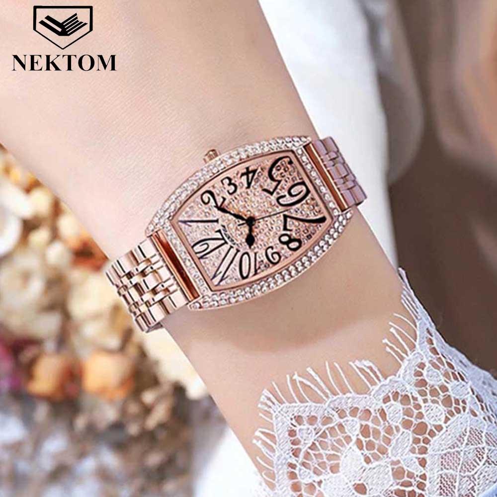 Новинка 2021, золотые женские часы, женские креативные стальные часы, женские часы с браслетом, женские водонепроницаемые часы, женские часы