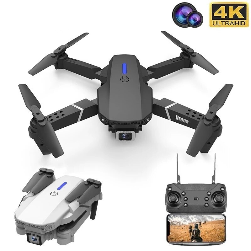Professional Gps Mini WIFI HD 4k Drone With Camera Hight Hold Mode Foldable RC Plane Helicopter Pro