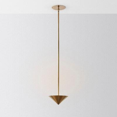 Llenó de lujo nuevo post-moderna lámpara nórdica dormitorio simple lámpara de Hong Kong de bar cobre lámpara