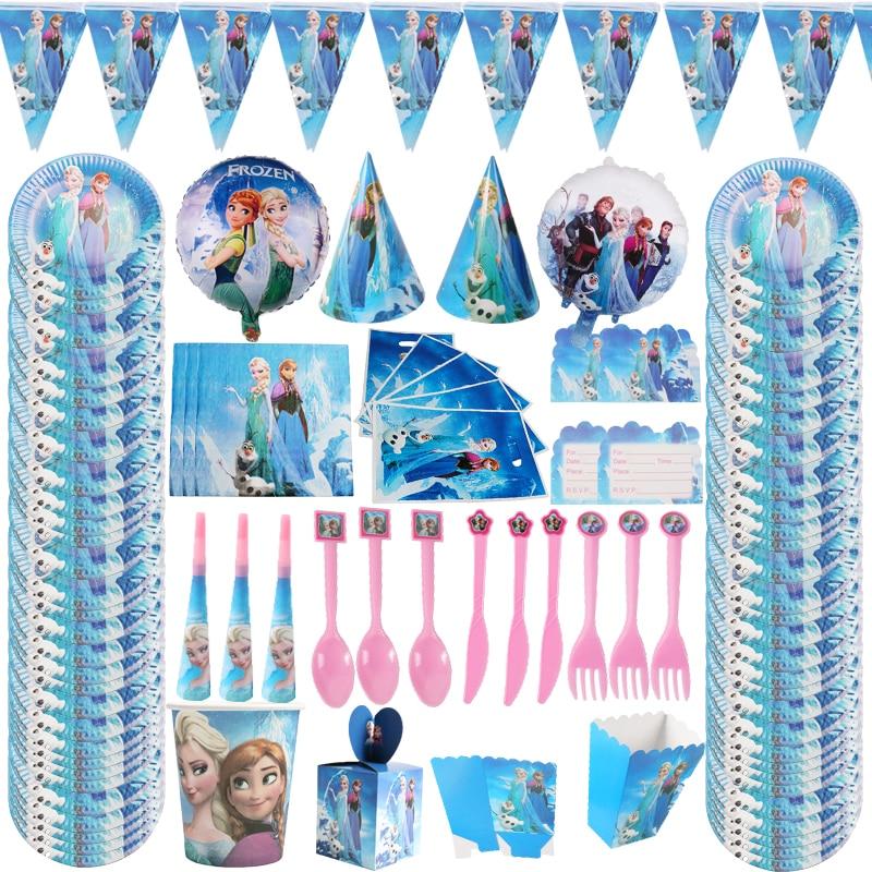 Горячая холодная быстрая одноразовая посуда, набор детской ложки, праздничное украшение для вечеринки