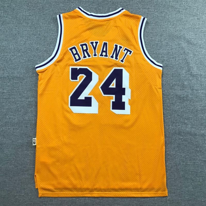 Kobe Bryant-camisetas de baloncesto para hombre... ropa de Los Ángeles Lakers #24...