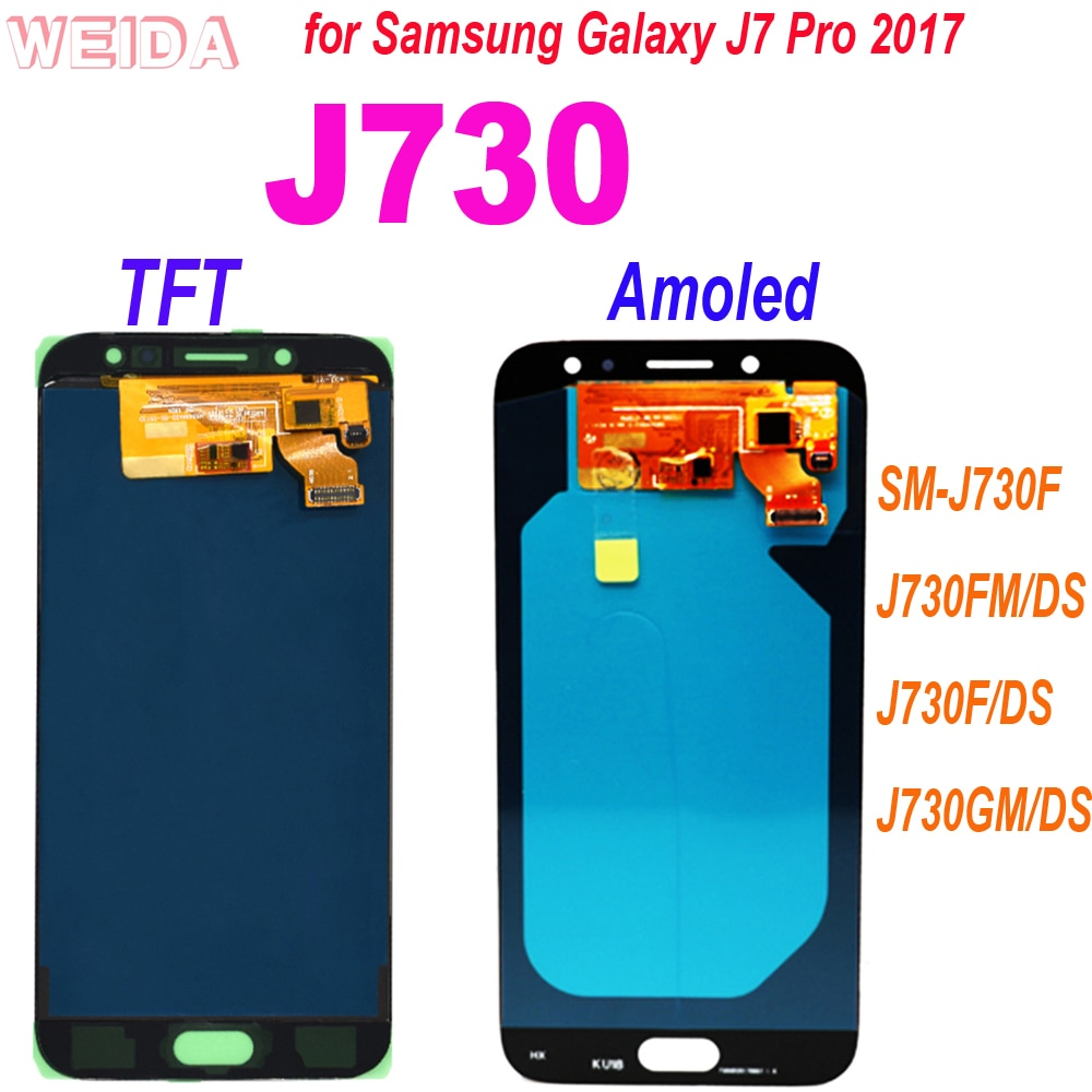 samsung original battery eb bj730abe for samsung galaxy j7 pro j730fj730k j730g j730gm sm j730f sm j730ds sm j730fm 3600mah AAA+ 5.5 for Samsung Galaxy J7 Pro 2017 J730 SM-J730F J730FM/DS J730F/DS J730GM/DS LCD Display Touch Screen Digitizer Assembly