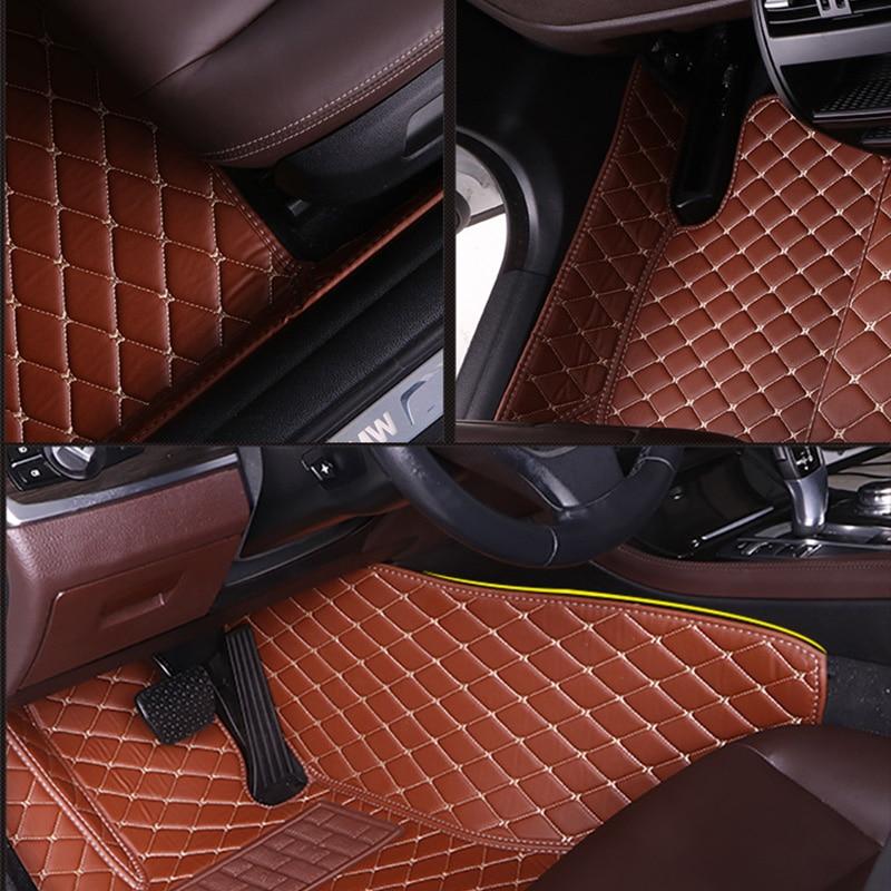 Custom Car Floor Mats for Fiat All Models palio viaggio Ottimo Bravo Freemont car styling auto accessories enlarge